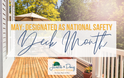 May: Designated as National Safety Deck Month